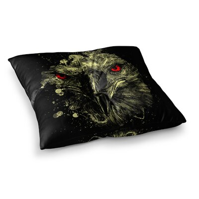 BarmalisiRTB Eagle Square Floor Pillow Size: 23 x 23
