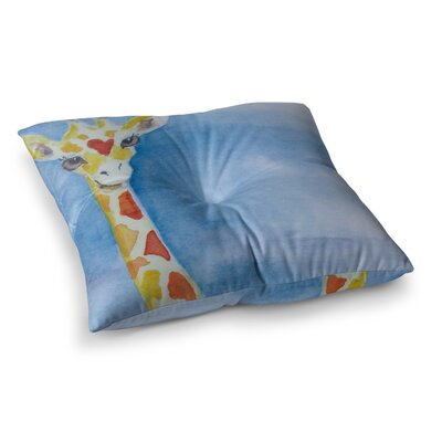 Padgett Mason Topsy Square Floor Pillow Size: 26 x 26