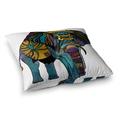 Pom Graphic Design Elephant of Namibia Square Floor Pillow Size: 26 x 26