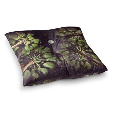 Richard Casillas Elevated Paradise Square Floor Pillow Size: 23 x 23