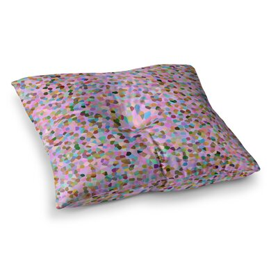Vasare Nar Candy Confetti Abstract Square Floor Pillow Size: 23 x 23