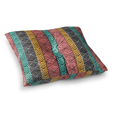 Pom Graphic Design Artisian Square Floor Pillow Size: 23 x 23