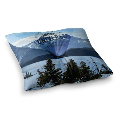Robin Dickinson Through the Wilderness Photography Square Floor Pillow Size: 26 x 26