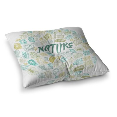 Pom Graphic Design Nature Earth Square Floor Pillow Size: 23 x 23