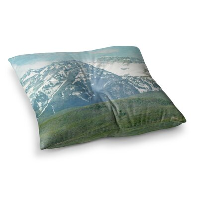 Sylvia Coomes Mountains Square Floor Pillow Size: 26 x 26