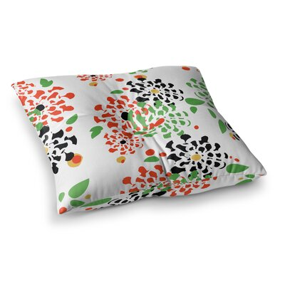 Sonal Nathwani Multi Bouquet Square Floor Pillow Size: 23 x 23