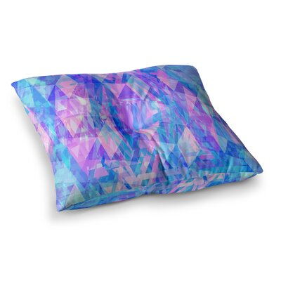 Suanne Carter Geo Prism2 Square Floor Pillow Size: 26 x 26