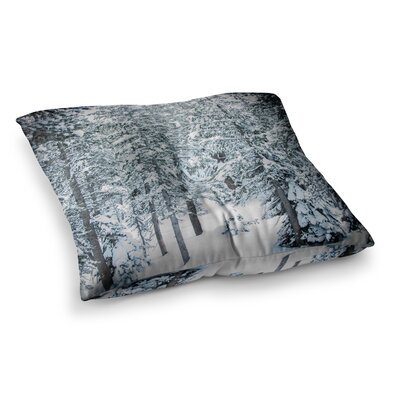 Juan Paolo Winter Trials Square Floor Pillow Size: 23 x 23