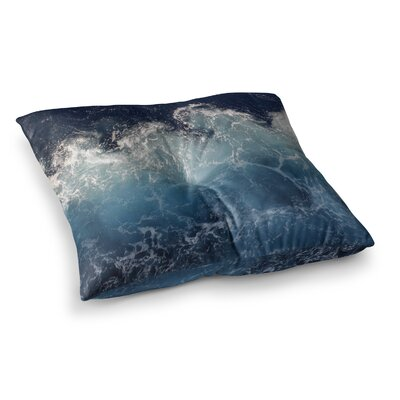 Suzanne Carter Sea Spray Ocean Square Floor Pillow Size: 23 x 23