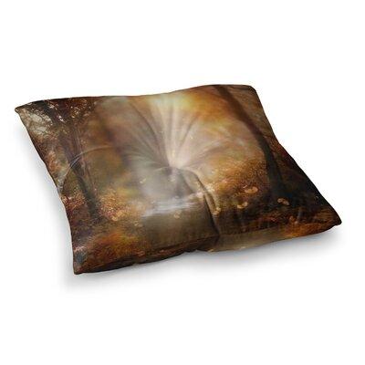 Viviana Gonzalez Make It Happen Square Floor Pillow Size: 23 x 23