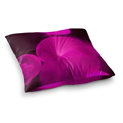 Juan Paolo Jellyfish Square Floor Pillow Size: 23 x 23