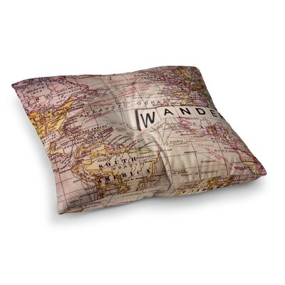 Sylvia Cook Wander Square Floor Pillow Size: 26 x 26