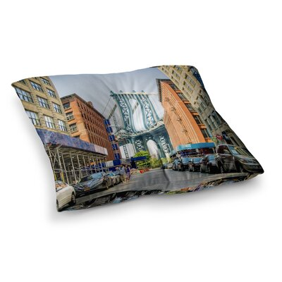Juan Paolo Dumbo Urban Photography Square Floor Pillow Size: 23 x 23