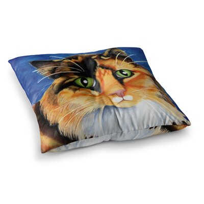 Vinny Thompson Sparkle Square Floor Pillow Size: 23 x 23