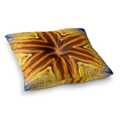 Philip Brown Star Icicles Square Floor Pillow Size: 23 x 23