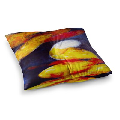 Rosie Brown Into The Light Square Floor Pillow Size: 26 x 26