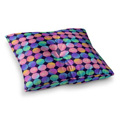 Noonday Design Octagons Square Floor Pillow Size: 23 x 23