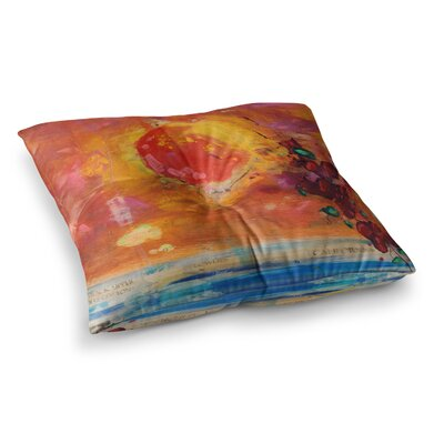 Nathan Gibbs Treslt Painting Square Floor Pillow Size: 23 x 23