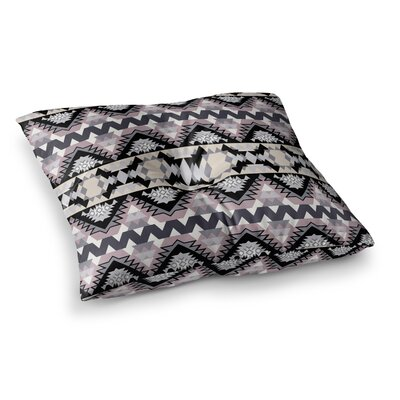 Victoria Krupp Nordic Ice Digital Square Floor Pillow Size: 26 x 26