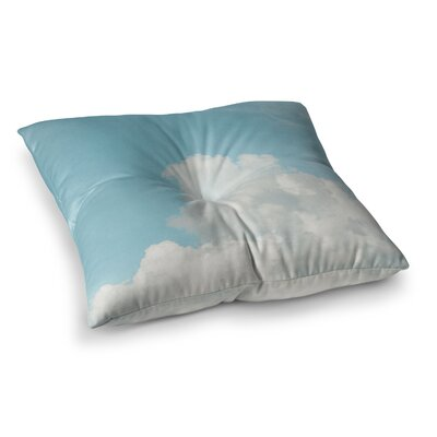 Suzanne Harford Summer Sky 3 Photography Square Floor Pillow Size: 23 x 23
