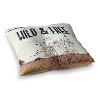 Sylvia Coomes Wild & Free Photography Square Floor Pillow Size: 26 x 26