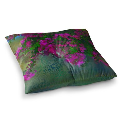 S. Seema Z Khushbu Square Floor Pillow Size: 23 x 23