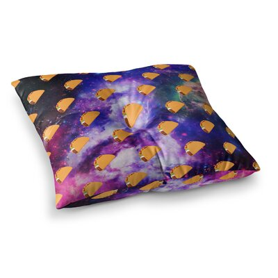 Juan Paolo Taco Galaxy Square Floor Pillow Size: 23 x 23