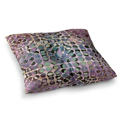 Pia Schneider Melange of Circles III Square Floor Pillow Size: 26 x 26