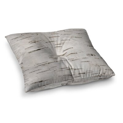 Susan Sanders Painted Tree Rustic Square Floor Pillow Size: 23