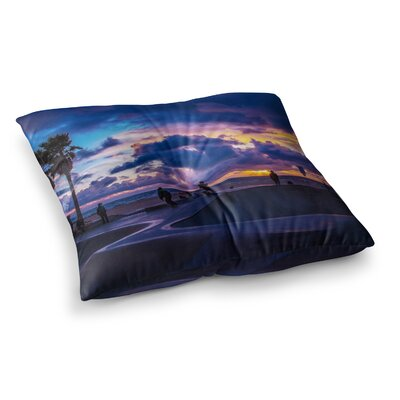 Juan Paolo Dogtown Square Floor Pillow Size: 23 x 23