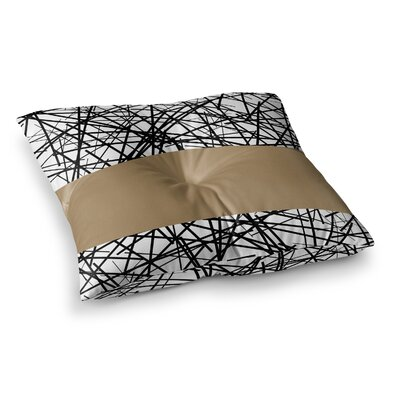 Trebam Kava Square Floor Pillow Size: 26 x 26