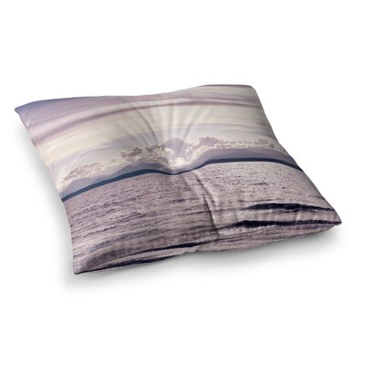 Robin Dickinson on the Other Side; Mountains Photography Digital Square Floor Pillow Size: 23 x 23