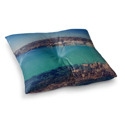 Violet Hudson Mykonos Bay Square Floor Pillow Size: 26 x 26