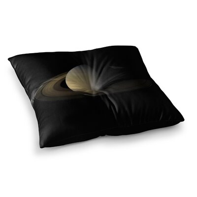 Alias Saturn Square Digital Floor Pillow Size: 26 x 26