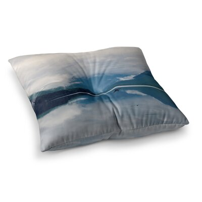 Robin Dickinson Flight Photography Square Floor Pillow Size: 23 x 23