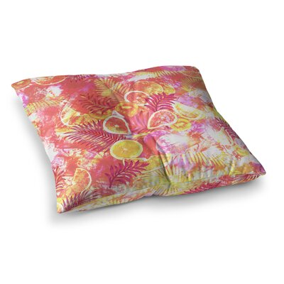 Victoria Krupp Fruit Punch Digital Square Floor Pillow Size: 23 x 23