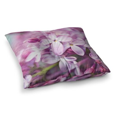 Sylvia Cook French Photography Square Floor Pillow Size: 23 x 23