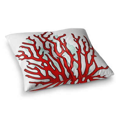 Oriana Cordero Square Floor Pillow Size: 23 x 23