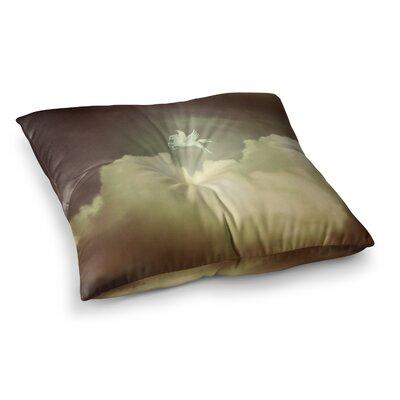 Richard Casillas Pegasus Square Floor Pillow Size: 26 x 26