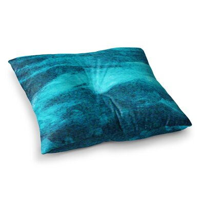 Suzanne Carter Confetti Ocean Digital Square Floor Pillow Size: 23 x 23