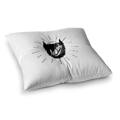 BarmalisiRTB Beard Square Floor Pillow Size: 26 x 26