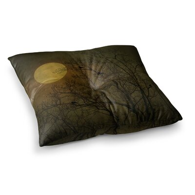 Robin Dickinson Starry Night Square Floor Pillow Size: 23 x 23