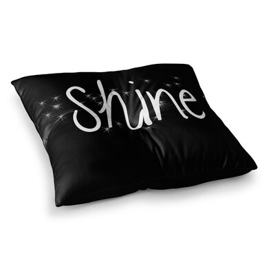 Suzanne Carter Shine Square Floor Pillow Size: 23 x 23