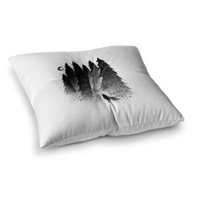 BarmalisiRTB Secret Forest Square Floor Pillow Size: 26 x 26