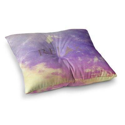 Rachel Burbee Relax Square Floor Pillow Size: 23 x 23