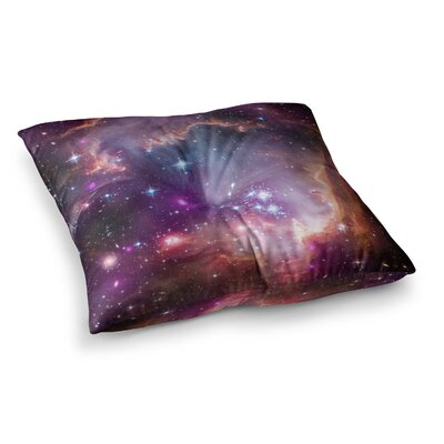 Suzanne Carter Cosmic Cloud Celestial Square Floor Pillow Size: 26 x 26