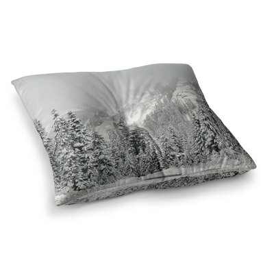 Robin Dickinson Winter Wonderland Square Floor Pillow Size: 26 x 26