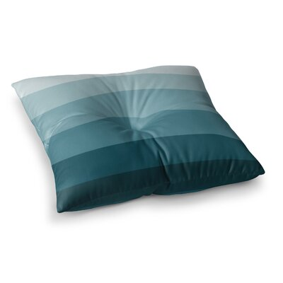 Trebam Vlakno V.2 Digital Square Floor Pillow Size: 26 x 26