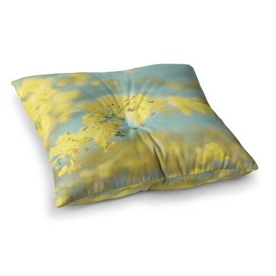 Sylvia Coomes Blooms 2 Square Floor Pillow Size: 26 x 26