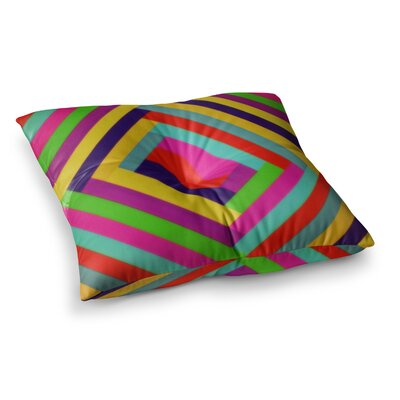 Trebam Nakriv Abstract Square Floor Pillow Size: 23 x 23